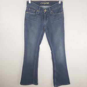American Eagle Hipster Stretch Jeans Size 0 Short